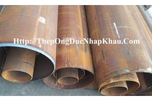 Thép ống đúc phi 406, phi 508 phi 610, thép ống đúc phi 114 phi 168 japan.phi 141 korea