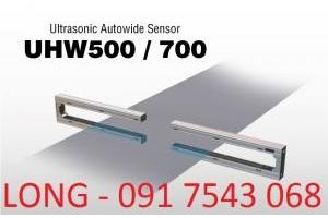 Cảm biến chỉnh biên Ultrasonic UHW500-Dai ly Nireco Vietnam-TMP Vietnam