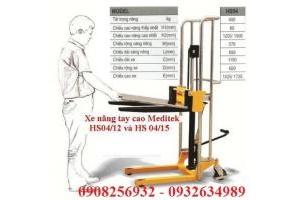 Xe nâng tay cao mini 400kg 850mm HS04/85