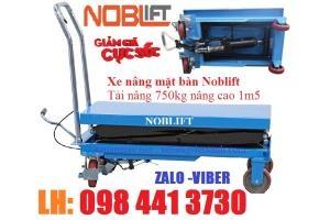 Bán Xe nâng bàn 750kg Noblift -Đức - call 098 441 3730 Ms Linh