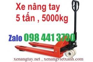 Xe nâng tay 5000kg Niuli- Đài Loan