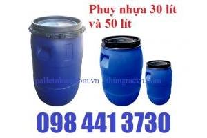 Phuy nhựa 30 Lít 50 lít khuyến mãi