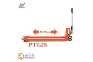 Xe nâng tay siêu dài PTL25 càng dài