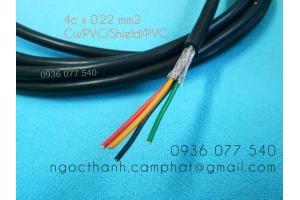 Cáp tín hiệu chống nhiễu 0.22 mm2