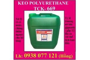 Keo Polyurethane trương nở chống thấm ngược PU TCK-669