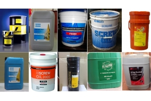 Dầu máy nén khí các loại :Hitachi, Ingersoll Rand, sullair, fusheng, Atlas copco, Kluber Summit,…