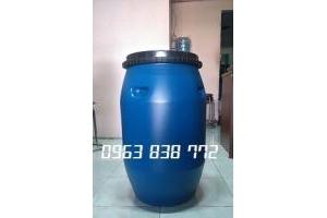 Thùng phi nhựa đựng hóa chất dung tích 50L