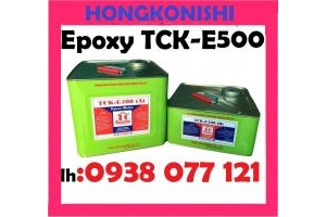 Keo epoxy TCK E500 xử lý nứt bê tông, tường, sàn, nền