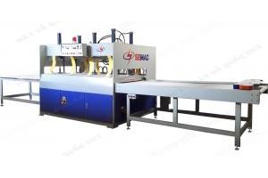 Máy ghép ép ván gỗ ngang cao tần semac SM-84H35G giá thành tốt nhất tại tphcm