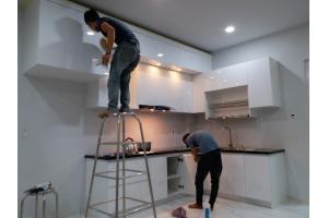 Tủ Bếp Đẹp Nhà Anh Hậu CTB024