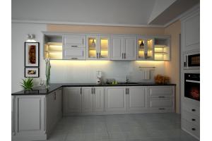 Tủ Bếp Gỗ TBGMS011