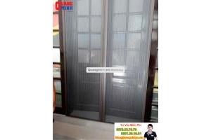An toàn tuyệt đối với cửa lưới Quang Minh