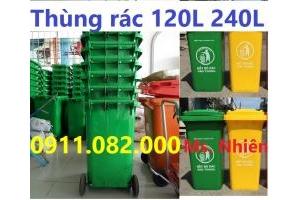 Nơi bán thùng rác 120 lít 240 lít rẻ nhất cần thơ, hậu giang, vĩnh long