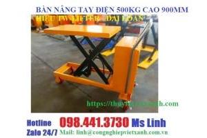 Bàn nâng tay 500kg nâng cao 900mm hiệu TW-LIFTER Đài Loan