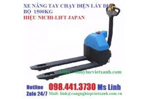 Xe nâng điện đứng lái chạy điện 2 tấn 2,5 tấn và 3 tấn hiệu TW-LIFTER Đài Loan