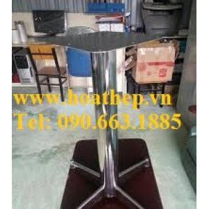 Chân bàn cà phê sắt inox các loại